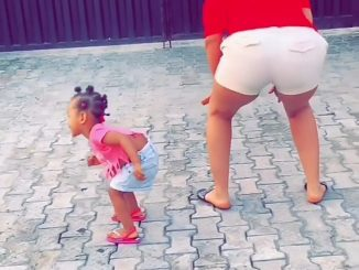 BBNaija's Gifty teaches 1-year-old daughter to twerk (video)