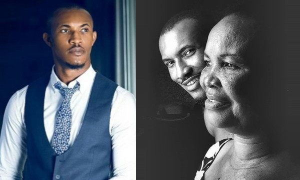 Gideon Okeke celebrates his mother on her birthday, shares 'true' story of how she supported their family after his father's business went down