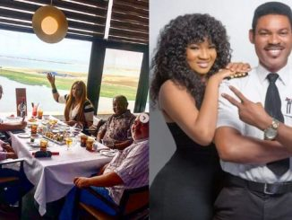 Omotola Jalade-Ekeinde reacts as follower questions her marital status