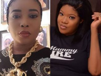 Toyin Abraham and Liz Anjorin go for each other's jugular following reports that Liz was 'held' for drugs in Saudi Arabia