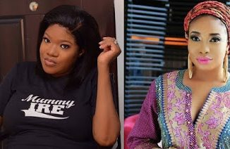 WAR ZONE: Toyin Abraham Threatens To Sue Fellow Nollywood Star, Liz Anjorin [SEE WHY]