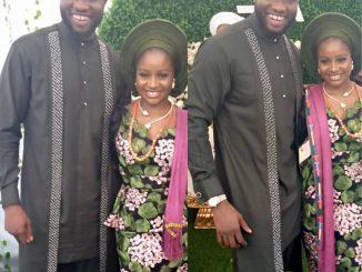 Photos from the wedding introduction of Mr Nigeria 2014 Emmanuel Ikubese & Anita 'Brows' Adetoye