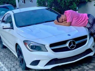 Toyin Abraham buys a new car
