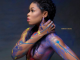 BBNaija's Princess bares her boobs in body paint photo