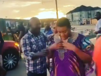 I swear on my late fathers grave I will find you - Actress, Nkechi Blessing cries out after an encounter with 'area boys' on movie set (Video)