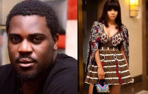 Yomi Black shares post questioning Toke Makinwa's source of income