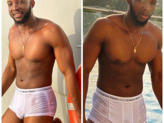 BBNaija's Tuoyo flaunts his eggplant in new photos