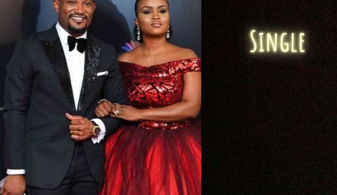 Maureen Esisi announces she's single on Instagram after the end of her marriage to actor Blossom Chukwujekwu