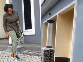 Eve Esin show off her newly built house, dedicates it to her late mother (video)