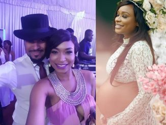Nollywood actor Bryan Okwara and his longtime girlfriend Marie Miller expecting their first child together (Photo)