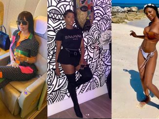 Socialites Diane and Sophia Egbueje drag actress Dorcas Fapson; claim she borrowed things from them to show off on Instagram