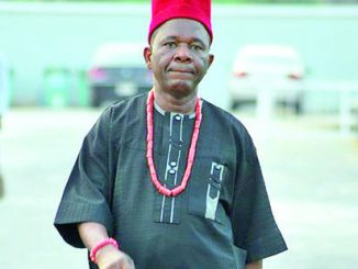 Chiwetalu Agu reacts to rumour of being 'dead, sick and in need of money'