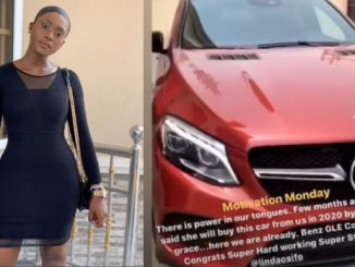 Actress Linda Osifo buys a new Mercedes Benz (videos)