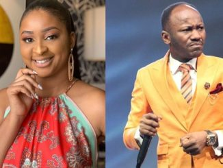 Etinosa apologizes to Apostle Suleiman after attacking him over his comment about bleaching