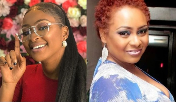 You're a jobless retired old mother - Etinosa lashes out at Victoria Inyama for saying she never apologized for desecrating the holy book but apologized to a pastor
