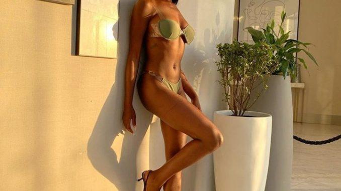 BBNaija's Khloe puts her banging body on display in just her underwear
