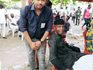 """I have no more money to feed"" - Actor Mike Godson writes to VP Osinbajo"