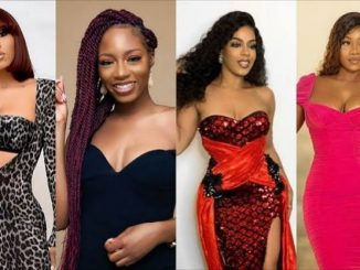 Former BBNaija housemates, Mercy Eke and Venita Akpofure shade Tacha after she came to Khafi's defence (video)