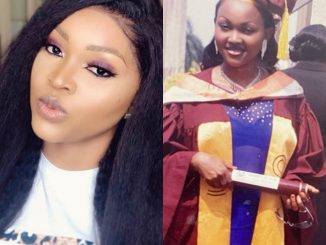 Mercy Aigbe shares throwback photo of her University graduation day
