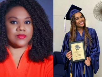 Stella Damasus' daughter bags scholarship, emerges high school's valedictorian