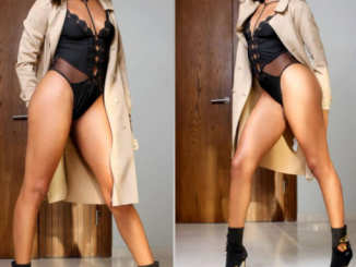 BBNaija's Jackye Madu flaunts her long legs in new sexy photos