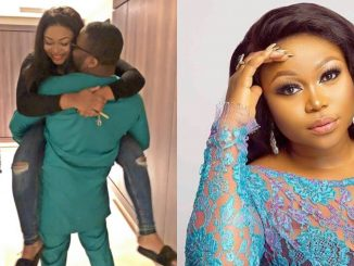 Being your wife is so peaceful - Ruth Kadiri celebrates wedding anniversary with husband