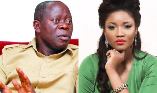 Omotola Accused Of Having Affair With Oshiomhole