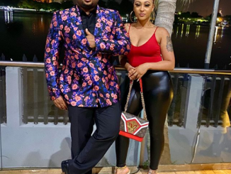 Tonto Dike's ex husband, Olakunle Churchill and actress Rosy Meurer welcome a son