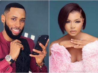 #BBNaija: Liquorose 'seductively' tells Emmanuel that she wants to rap* him (video)