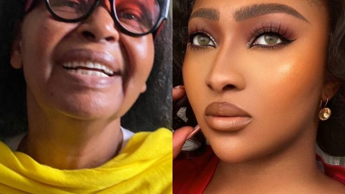Actress, Lilian Esoro's mother passes on