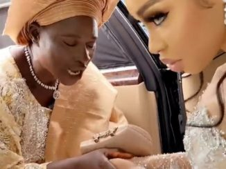 Actress Yetunde Barnabas responds after viewers read sinister meaning into a video of her spraying her mother money (video)