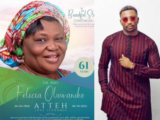 Big Brother Naija star, Sir Dee loses Mom