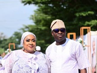 We still share the same bedroom - Foluke Daramola Sakako's husband denies reports their marriage has crashed