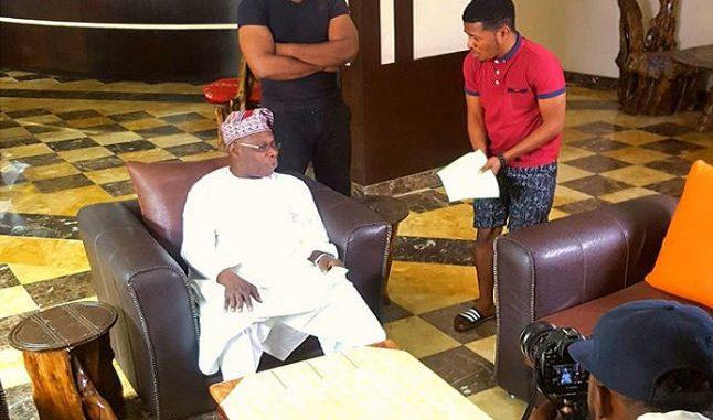 Olusegun Obasanjo in Nollywood