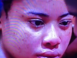 #BBNaija housemate, Nina weeps as she calls off her ''relationship'' with Miracle (videos)