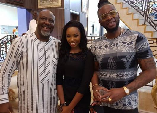 Photo: Teddy A and BamBam visit Senator Dino Melaye in Abuja
