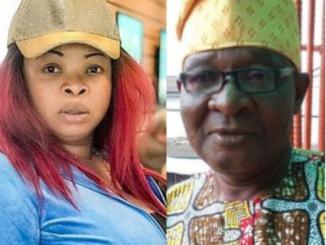 Nollywood actress, Dayo Amusa loses her dad