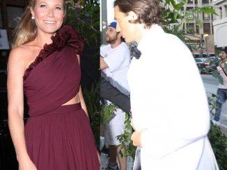 Actress Gwyneth Paltrow and Brad Falchuk hold 'secret wedding' in LA (Photos)