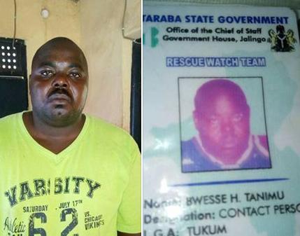 Photos: Army arrests notorious criminal in Taraba