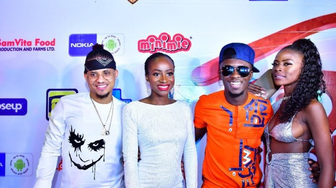 Photos from Lolu, Anto, Rico Swavey and Khloe's homecoming party in Lagos