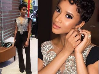 Photos of Adesua Etomi-Wellington's stunning look to 'Date Night' movie premiere