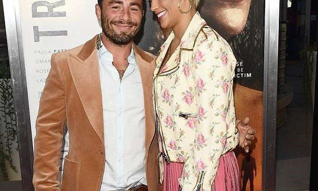 Robin Thicke's ex Paula Patton steps out with her 'married' boyfriend (Photos)