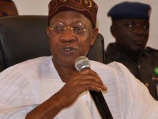 ''Critics inciting youths against Buhari'' Lai Mohammed