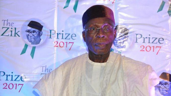 Audu Ogbeh bags Zik Prize Leadership Award, dedicates award to the Nigerian farmer