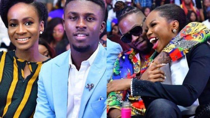 See how Big Brother Naija couples, Loto and BamTeddy slayed at the grand finale screening (Photos)