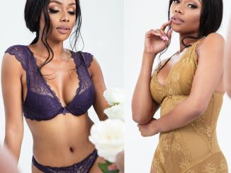 Bonang Matheba stuns in ravishing lingerie shoot (Photos)