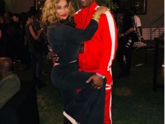 Beyonce's Mom Tina strikes a sexy pose with her husband Richard at Coachella (Photos)