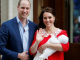 First photos of Kate Middleton and Prince William's cute royal baby No. 3
