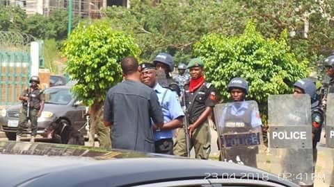 Photos: Police, Shiite protesters clash again in Abuja