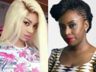 Dear Chimamanda, you aren't a feminist if u are telling a female what to do, let women live how they want - Dencia